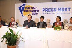 पुसमा हुने प्रिन्टिङ एण्ड फोटोग्राफी एक्स्पो बारे  पत्रकार सम्मेलन