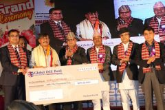 नेपाल फोटो पत्रकार समूहले आयोजना गरेको राष्ट्रिय फोटो पत्रकारिता सम्मानबाट दि हिमालयन टाइम्सका फोटो पत्रकार स्कन्द गौतम सम्मानित हुनु भएको छ
