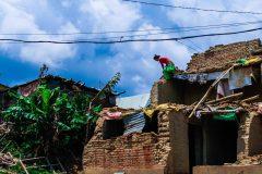 """""""भुकम्प पछिको नेपाल"""" फोटो प्रदर्शनीको ५० हजार पुरस्कार दिपक के.सी.लाई"""